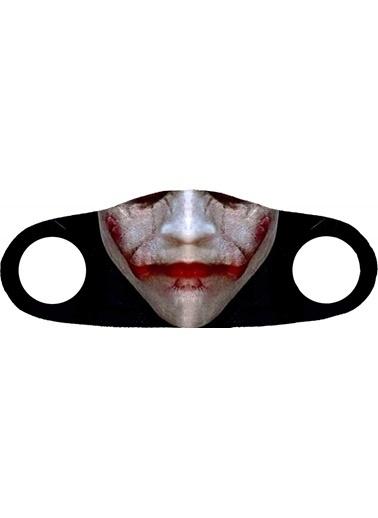Angelino Butik Moda Maske  Baskı No 10 Yıkanabilir Yetişkin Yüz Maskesi Renkli